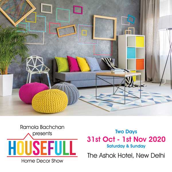 Housefull Exhibition- Home Decor Show in New Delhi - BookMyStall