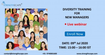[Free Webinar] Diversity Training for New Managers