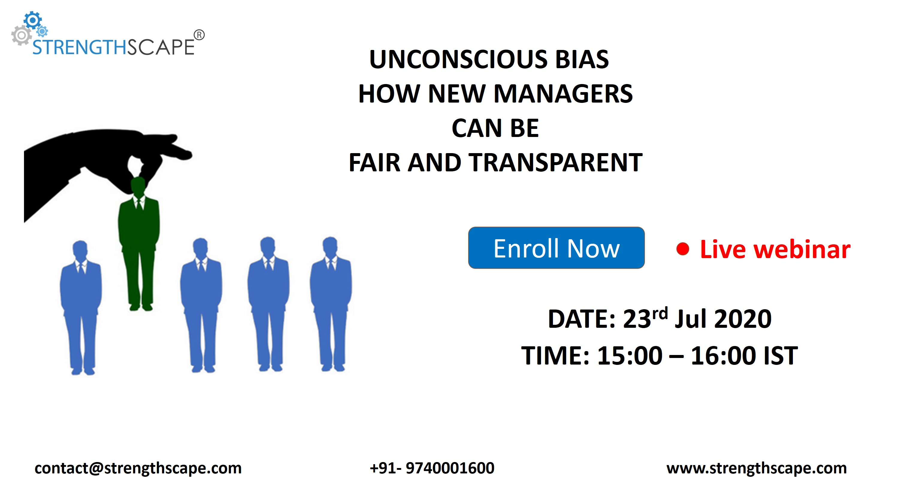 Unconscious Bias - How New Managers can be Fair and Transparent