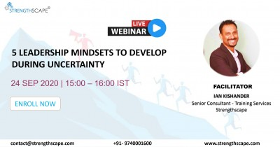 [Free Webinar] 5 Leadership Mindsets to Develop During Uncertainty