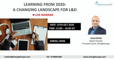[Free Webinar] Learning from 2020: A Changing Landscape for L&D