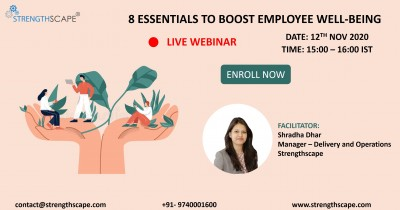 [Free Webinar] 8 Essentials to Boost Employee Well-being