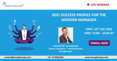 [Free Webinar] 2021 Success Profile for The Modern Manager