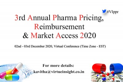 3rd Annual Pharma Pricing, Reimbursement & Market Access 2020 (Virtual Conference)
