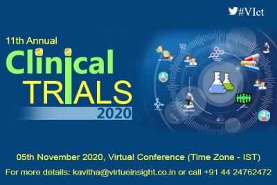 11th Annual Clinical Trials Summit 2020 (Virtual Conference)