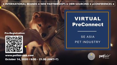 PreConnect by PET FAIR (Online Event)
