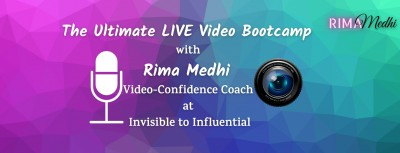 The Ultimate LIVE Video Bootcamp for New Coaches & New Online Entrepreneurs