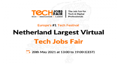 Netherland Growing Recruiting and Branding Virtual Jobs Fair
