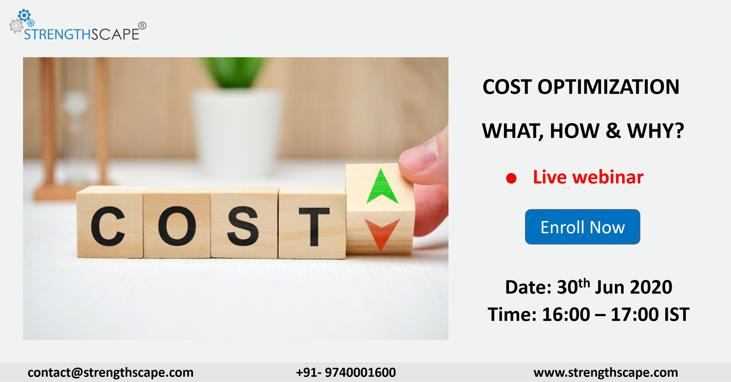 [Webinar] Cost Optimization – What, How & Why?